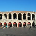 Bellissima Verona in the north of Italy