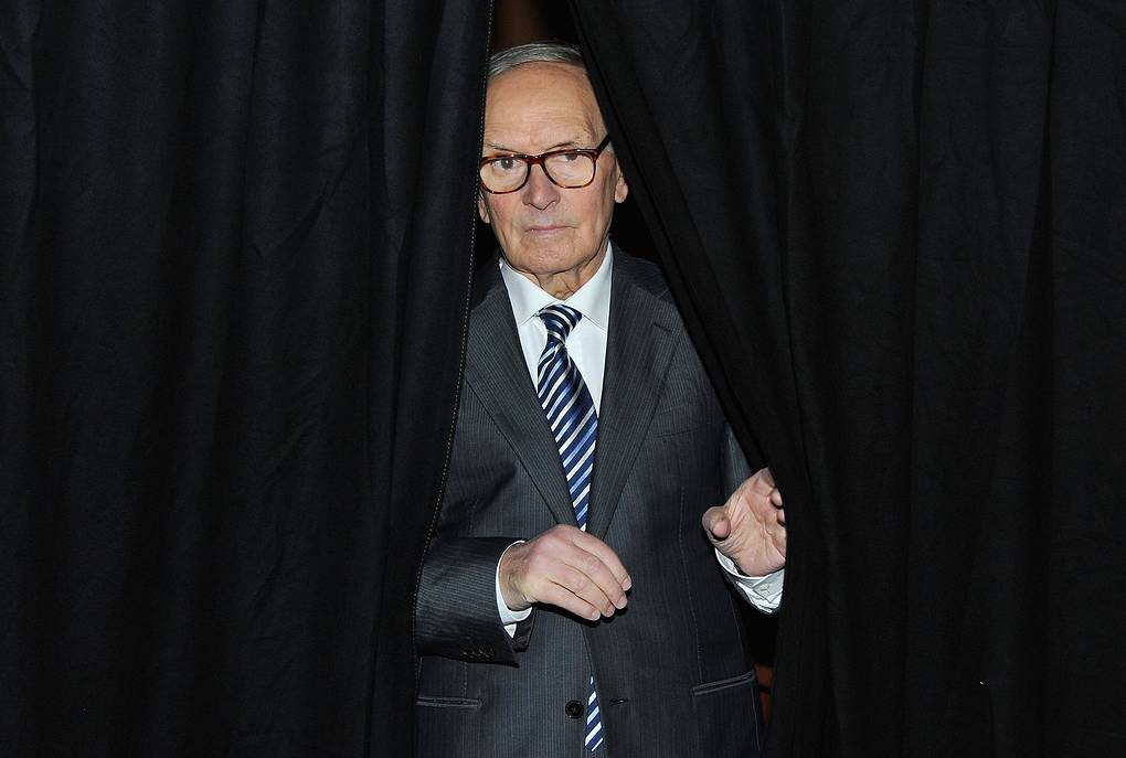 ROME - NOVEMBER 01:  Composer and conductor Ennio Morricone attends an Q & A session at the 5th International Rome Film Festival at Auditorium Parco Della Musica on November 1, 2010 in Rome, Italy.  (Photo by Pascal Le Segretain/Getty Images)